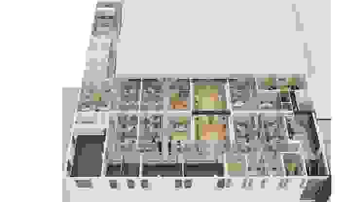 3d Flat Plan ROAS ARCHITECTURE 3D DESIGN AGENCY Modern