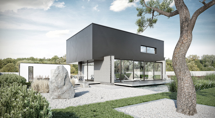 Minimalistische huizen van ENDE marcin lewandowicz Minimalistisch