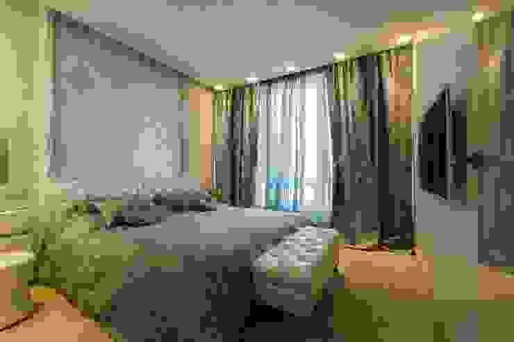 Климт. Спальня в эклектичном стиле от In/De/Art Эклектичный