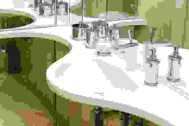 Климт. Ванная комната в эклектичном стиле от In/De/Art Эклектичный