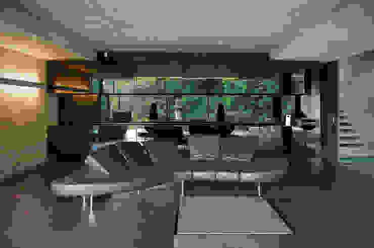 Living Room Eldridge London Salas de estilo minimalista Gris