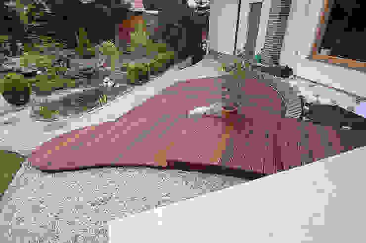 Taras drewniany. Realizacja w Wilkanowie koło Zielonej Góry. od PHU Bortnowski Nowoczesny