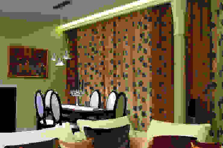 Квартира в жк <q>Аэробус</q> Столовая комната в эклектичном стиле от In/De/Art Эклектичный