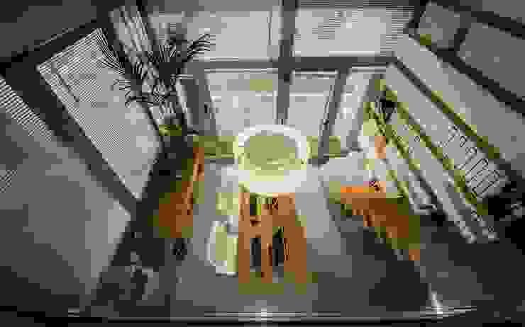 studio di architettura Comes Del Gallo의  서재 & 사무실, 모던