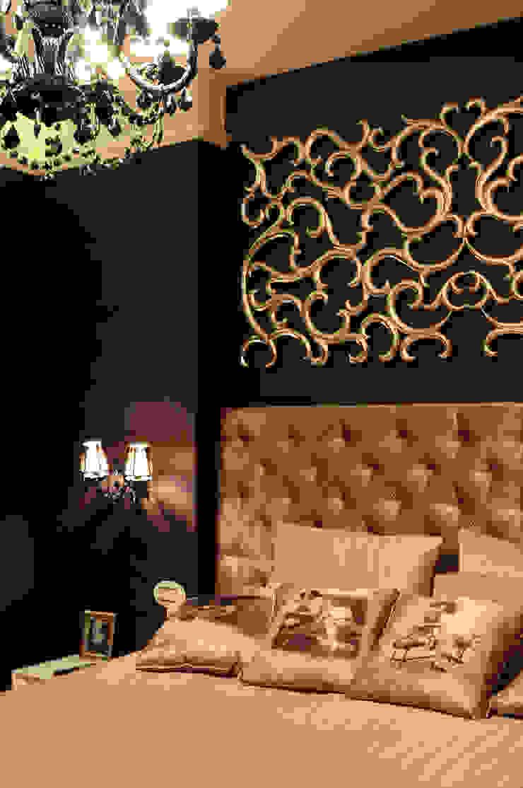Квартира в жк <q>Аэробус</q> Спальня в эклектичном стиле от In/De/Art Эклектичный