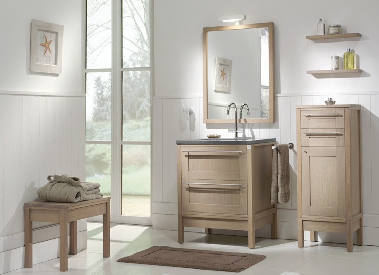 F&F Floor and Furniture Country style bathrooms