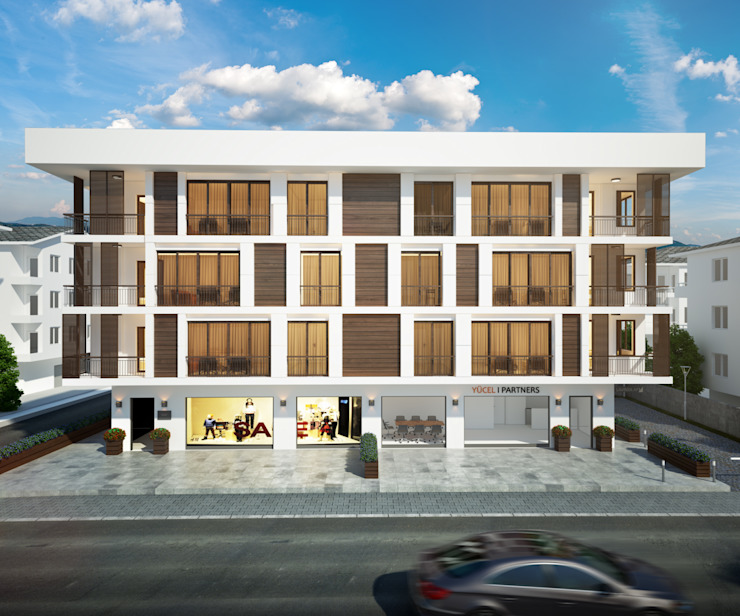 yücel partners – Lavinia Apartment: modern tarz , Modern