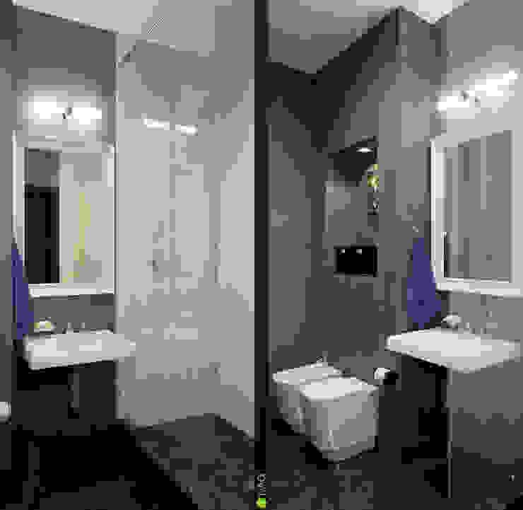 Интерьер с индивидуальностью Ванная комната в эклектичном стиле от Architectural Bureau DAOFORM Эклектичный