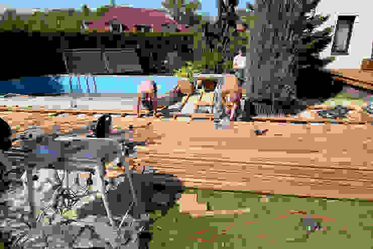 Taras drewniany. Realizacja w Żarach. od PHU Bortnowski Nowoczesny