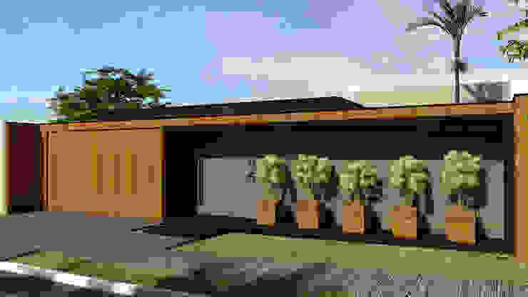 Residência DV+ Casas modernas por Quattro+ Arquitetura Moderno