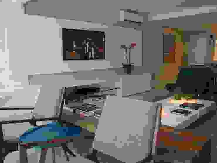 Apartamento Beira Mar Quartos modernos por Geraldo Brognoli Ludwich Arquitetura Moderno