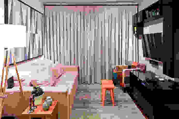 KFOURI ZAHARENKO arquitetura e design Modern living room