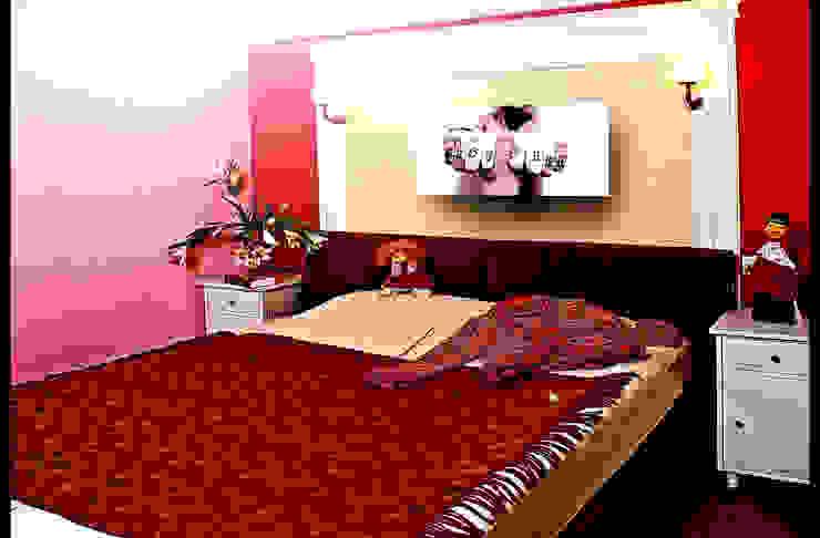 """""""Польза-прочность-красота"""" Спальня в эклектичном стиле от D&T Architects Эклектичный"""
