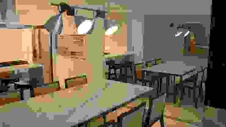 Apartamento Beira Mar Salas de jantar modernas por Geraldo Brognoli Ludwich Arquitetura Moderno