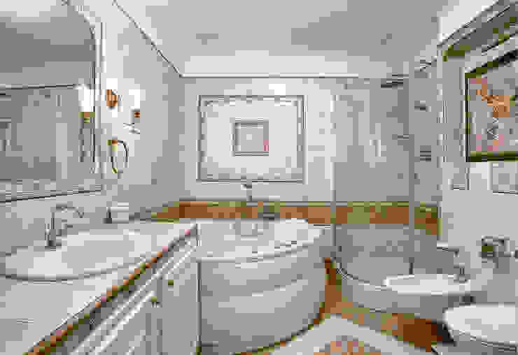 Цвета чайной розы D&T Architects Ванная в классическом стиле