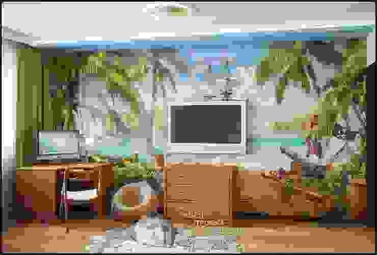 Фото интерьера детской комнаты Детские комната в эклектичном стиле от Бюро домашних интерьеров Эклектичный