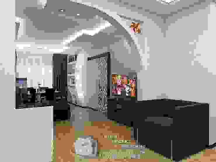 Дизайн интерьера гостиной Гостиные в эклектичном стиле от Бюро домашних интерьеров Эклектичный