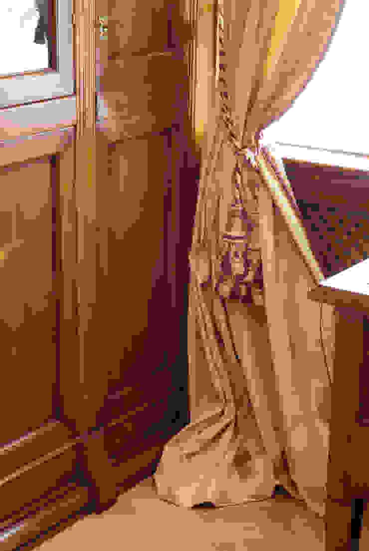 Цвета чайной розы D&T Architects Рабочий кабинет в классическом стиле