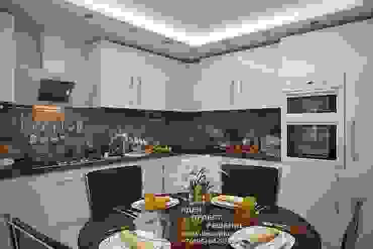 Дизайн интерьера кухни Кухни в эклектичном стиле от Бюро домашних интерьеров Эклектичный