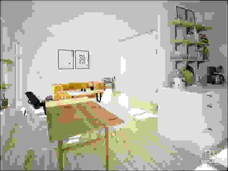 Minimalist dining room by DECLASE Minimalist