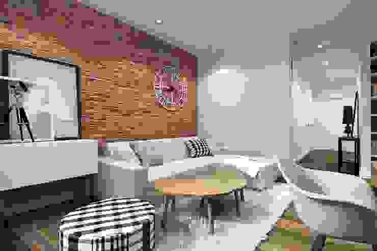 Mieszkanie Warszawa od Projektowanie Wnętrz Suspenzo