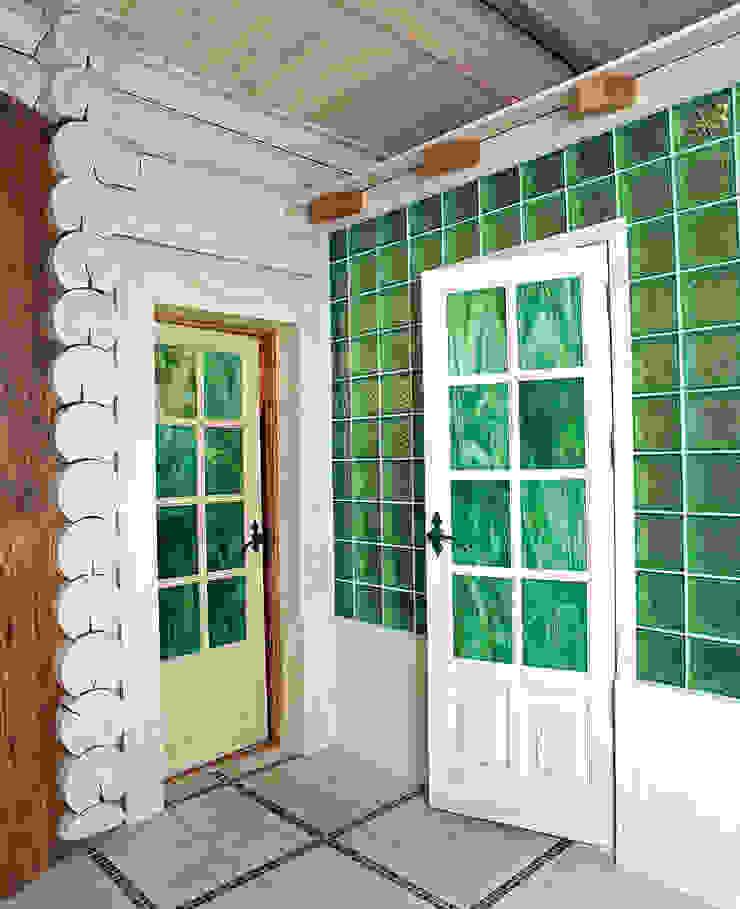В гостях у сказки Ванная комната в стиле кантри от D&T Architects Кантри
