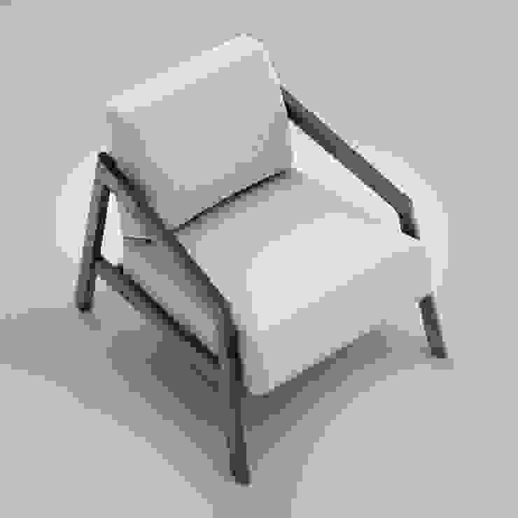COIN armchair od Redo Design Studio Radosław Nowakowski Skandynawski