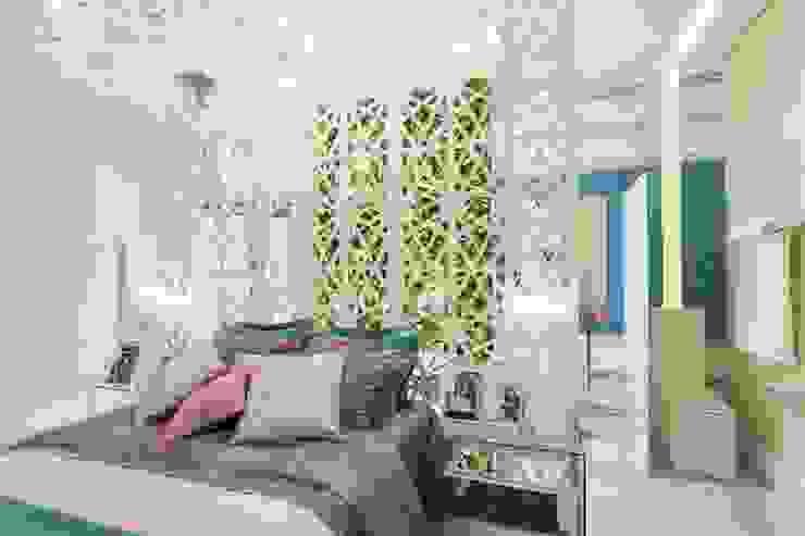 Patrícia Hagobian Interiores Cuartos de estilo moderno