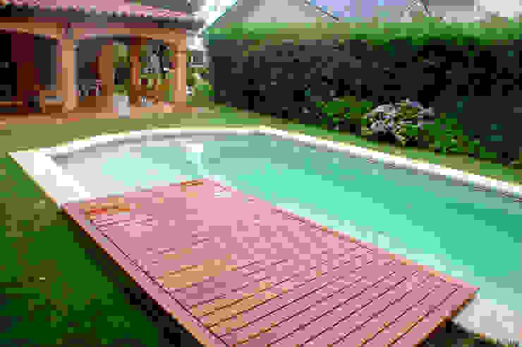 Piscinas Scualo 泳池 木頭 Wood effect