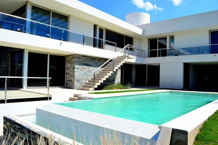 Piscinas Scualo 泳池 石器 White