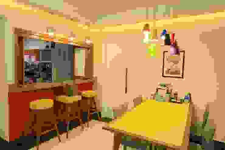 Sala de jantar: Salas de jantar  por Item 6 Arquitetura e Paisagismo