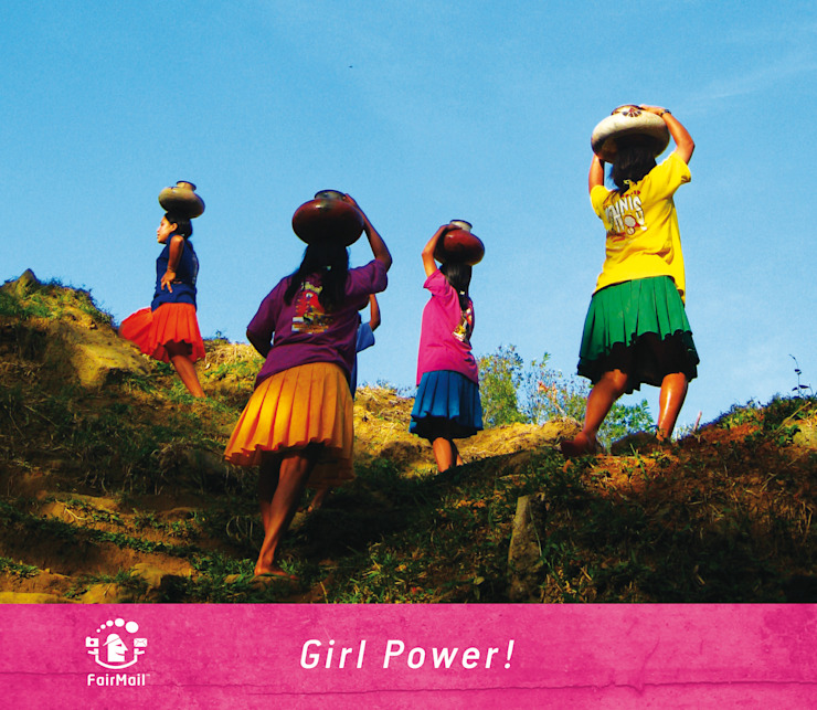 Fair trade wenskaart van Yomira uit Peru van FairMail Tropisch