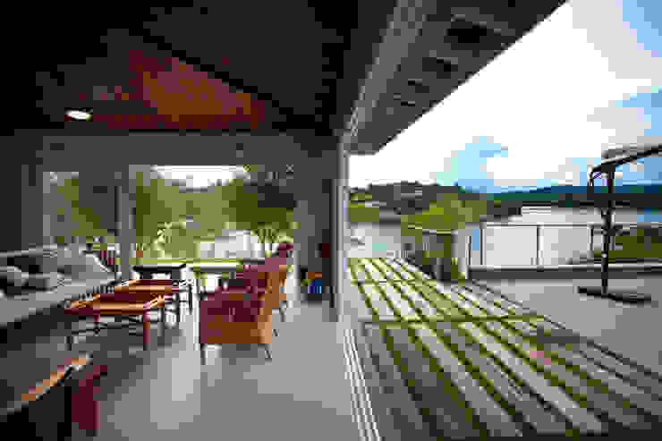 Vista da Área Gourmet Casas clássicas por M.Lisboa Arquitetura e Interiores Clássico