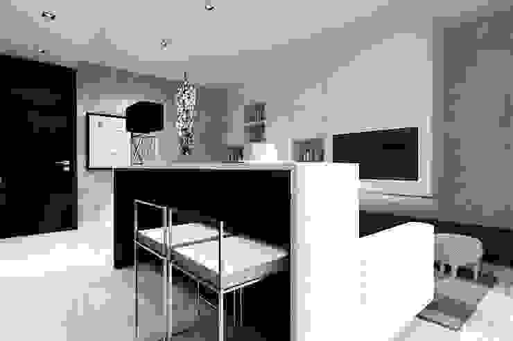 Apartament kameralny od Projektowanie Wnętrz Suspenzo