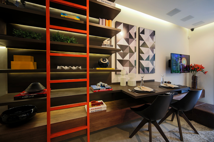 Столовая комната в стиле модерн от homify Модерн