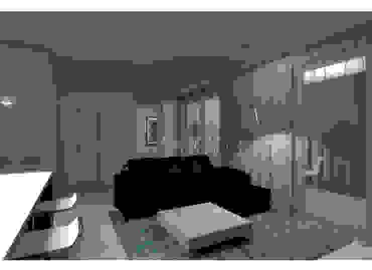 Гостиная Гостиная в стиле минимализм от АМСД Минимализм