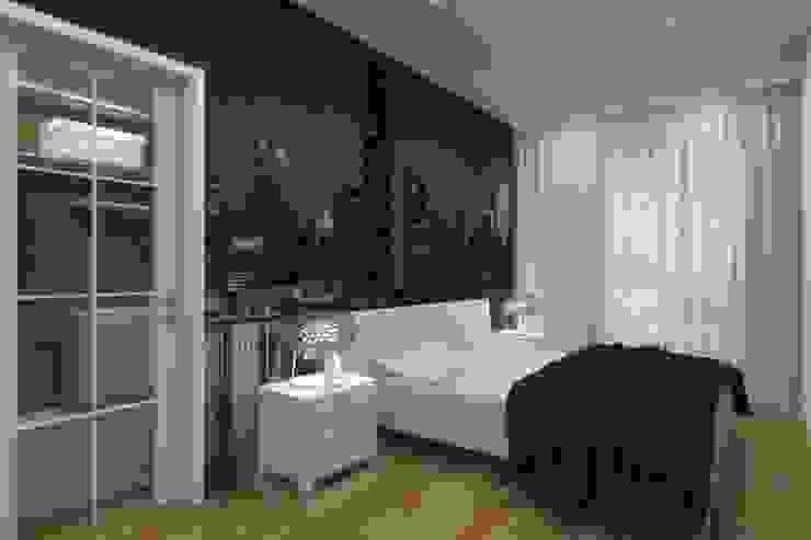 Спальня Спальня в стиле минимализм от АМСД Минимализм