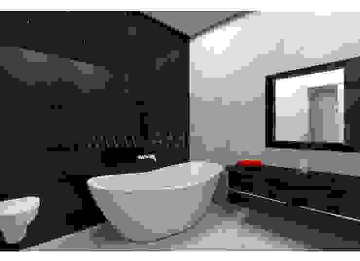 Ванная комната Ванная комната в стиле минимализм от АМСД Минимализм