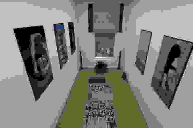 Комната для занятий йогой Тренажерный зал в стиле минимализм от АМСД Минимализм