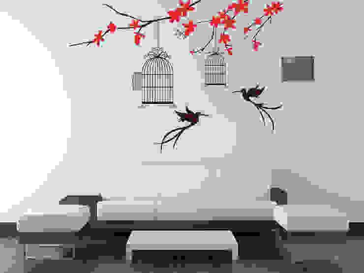 vinil decorativo : Hoteles de estilo  por nuevo estilo