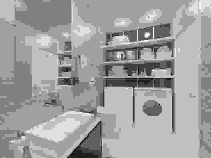 Студия-лофт в Тюмени: визуализация и дизайн Ванная комната в стиле модерн от OK Interior Design Модерн