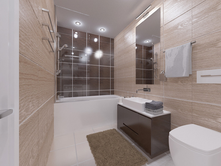 Modern style bathrooms by OK Interior Design Modern