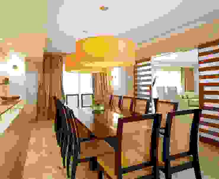 Residência Itaim Bibi Salas de jantar modernas por Denise Barretto Arquitetura Moderno
