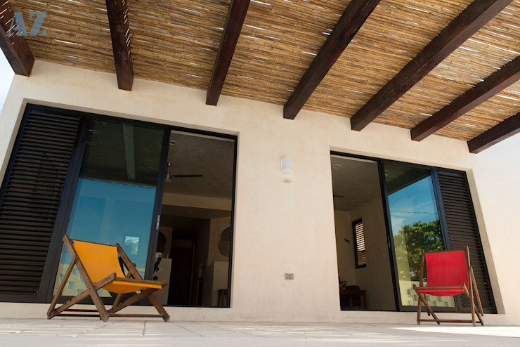 Casas de estilo  por Alberto Zavala Arquitectos