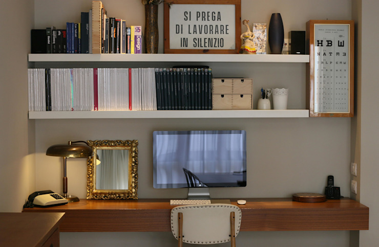 Modern study/office by Patrizia Massetti Modern