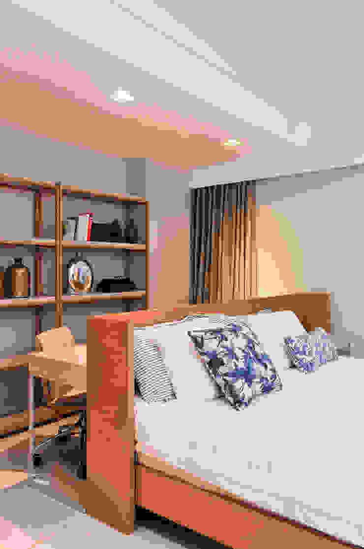 Apartamento BelaVista Quartos modernos por Spinola+Carvalho Arquitetura Moderno