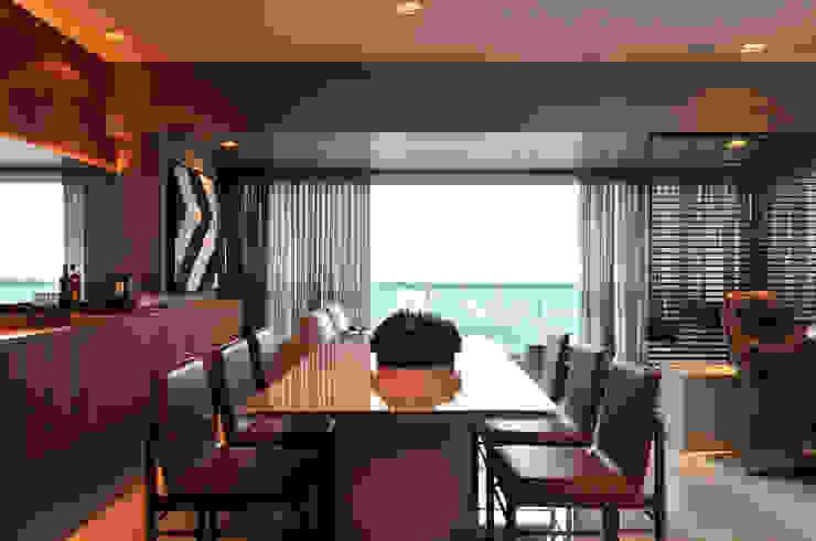 Apartamento BelaVista Salas de jantar modernas por Spinola+Carvalho Arquitetura Moderno