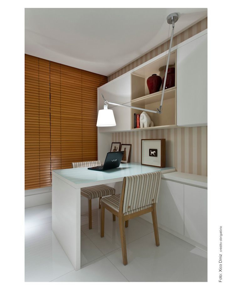 Apartamento em Ondina Escritórios modernos por Spinola+Carvalho Arquitetura Moderno