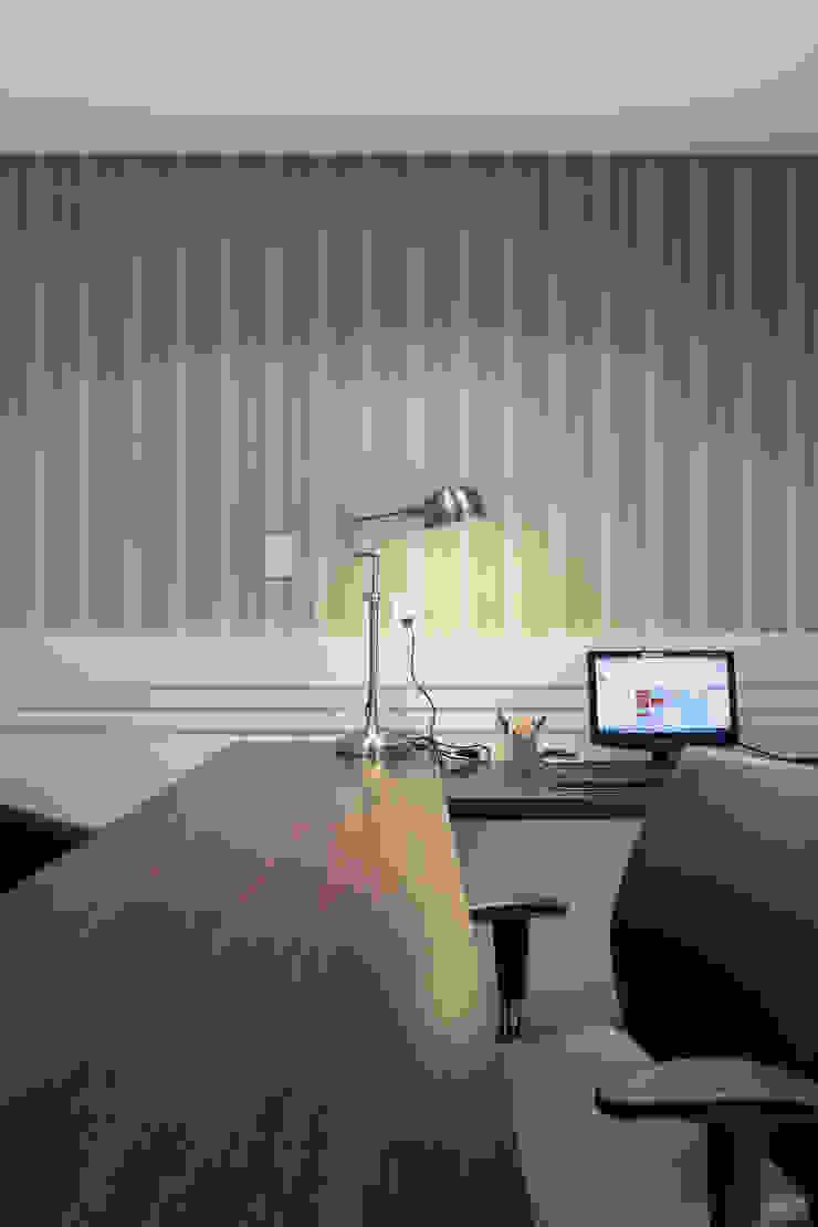 Sala Advogado Espaços comerciais modernos por Juliana Damasio Arquitetura Moderno