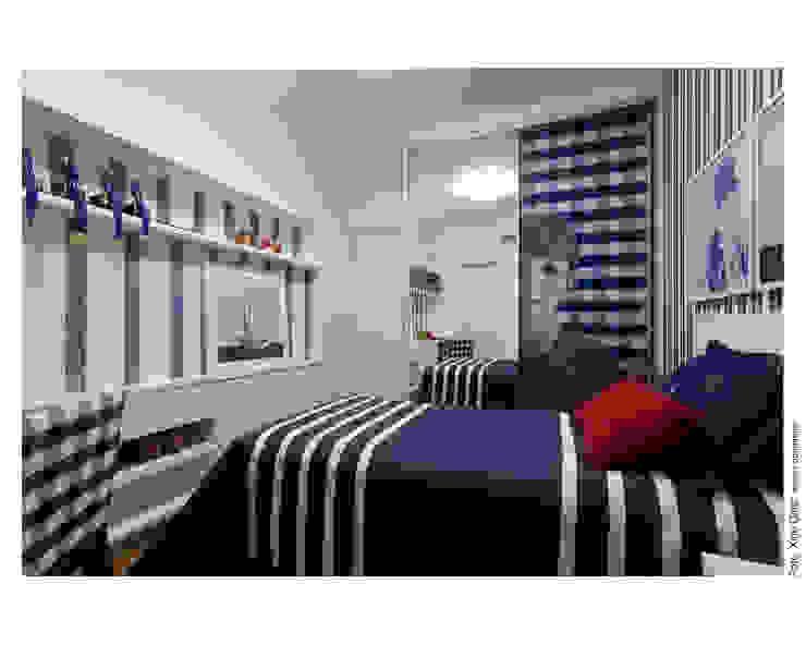Apartamento em Ondina Quarto infantil moderno por Spinola+Carvalho Arquitetura Moderno